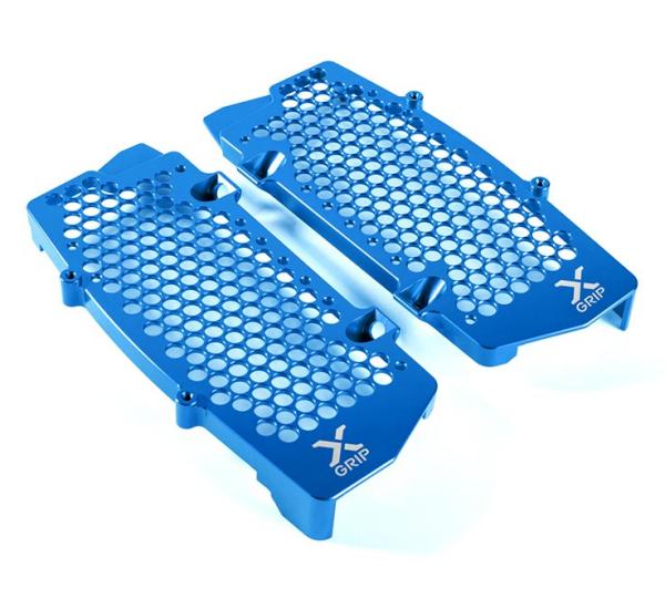 X-GRIP Kühlerschutz GASGAS EC (F), MC (F), BJ. 2021+ Blau
