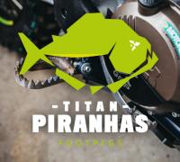 X-GRIP TITAN PIRANHAS Fussrasten