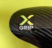 X-GRIP Carbon Auspuffbirnen Schutz KTM SX, EXC, Husqvarna TE, 250 - 300, BJ. 2017 - 2019