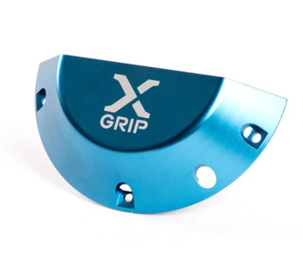 X-GRIP Kupplungsdeckel Schutz GASGAS EC, 250-300, BJ. 2021+ Blau