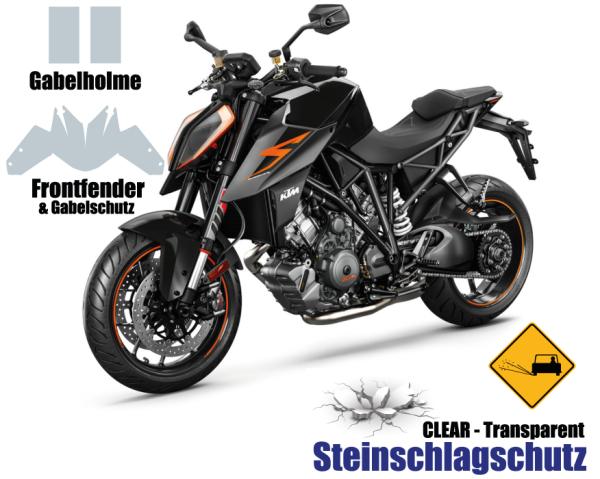 KTM Super Duke 1290 Steinschlagschutz Set 5 Teilig 2.0