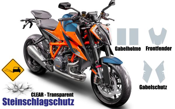 KTM Super Duke 1290 Steinschlagschutz Set 5 Teilig 3.0