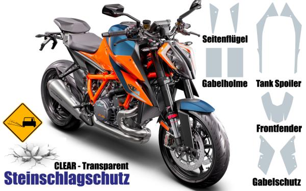 KTM Super Duke 1290 Steinschlagschutz Set 9 Teilig 3.0
